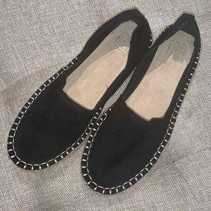 Shoes - Suede espadrille flats